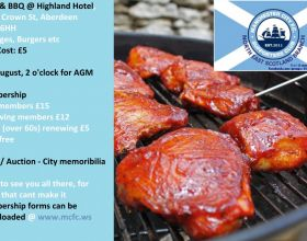 BBQ & AGM @ Highland Hotel - 2nd August