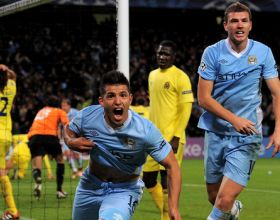 City v Villareal (UEFA CL) - Tue 18 Oct 2011 [2V1 WIN]