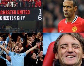 United v City (League) – Sat 23 Oct 2011 [1-6 win]