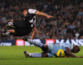 City v Newcastle (League) - Sat 19 Nov 2011 [3-1 win]