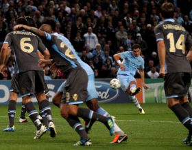 City v Napoli (UEFA CL) - Wed 14 Sep 2011 [1-1]