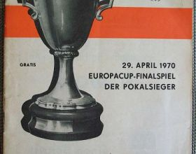 1970 European Cup Winners' Cup Final - Manchester City v Górnik