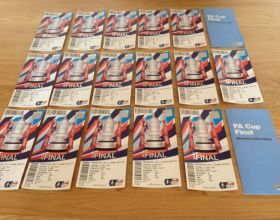 FA CUP Final Tickets arrived